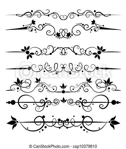 set of design elements - csp10379810