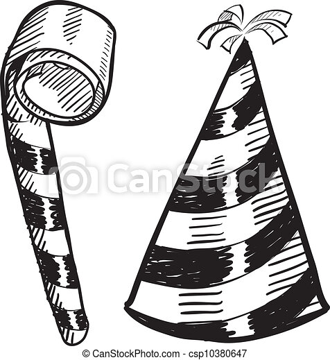 Hats Drawing Stock Vector Coloring Pages Cute Clm Căutați Ui Găsiți