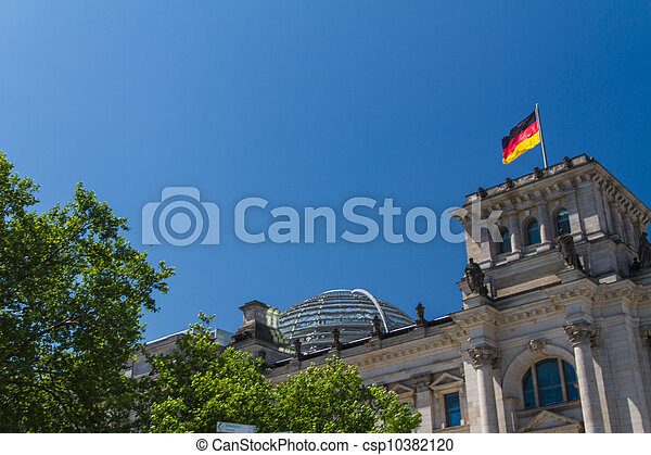 Berlin Government District - csp10382120