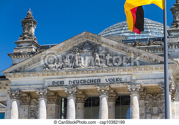 Berlin Government District - csp10382199
