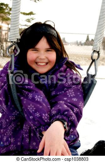 Saturated Child Portrait - csp1038803