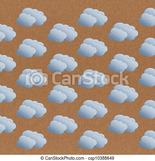 Cloud Texture Drawing Paper Texture Seamless Cloud