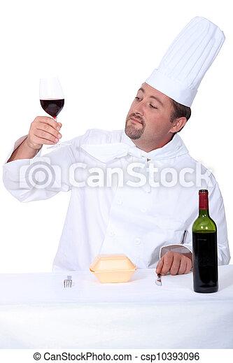 portrait of a cook - csp10393096