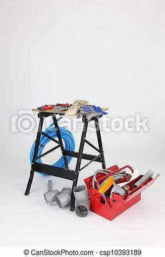 plumber tools - csp10393189
