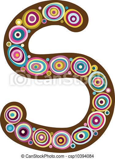 "Beautiful letter ""S"" - csp10394084"