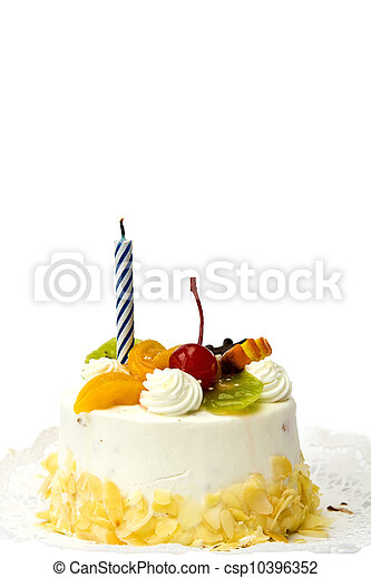 Birthday cake - csp10396352