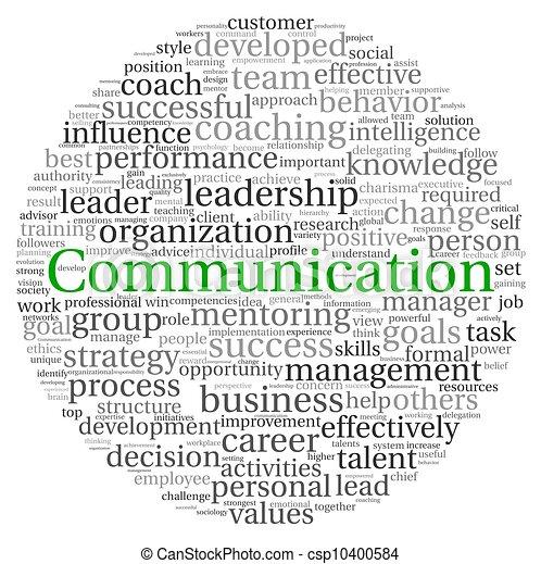 comunicación, concepto, palabra, etiqueta, nube - csp10400584