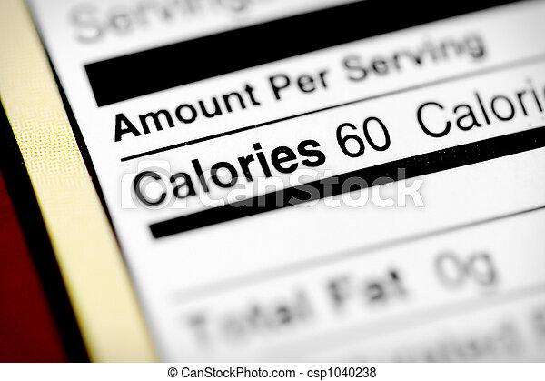 Low in calories - csp1040238
