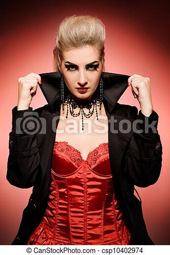 Vampire woman - csp10402974