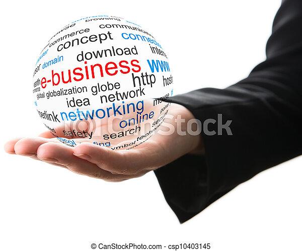 概念, ビジネス, インターネット - csp10403145