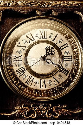 Old antique clock - csp10404848