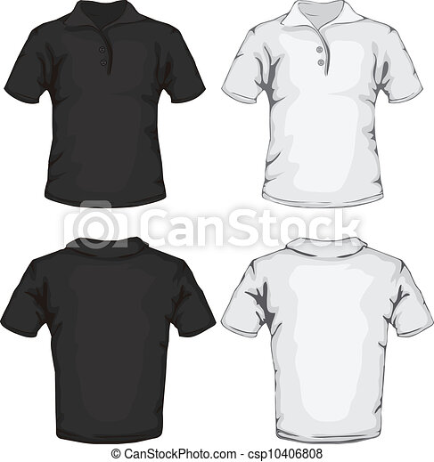 clipart vecteur de polo  conception  chemise  gabarit blue polo shirt clip art blank polo shirt clip art