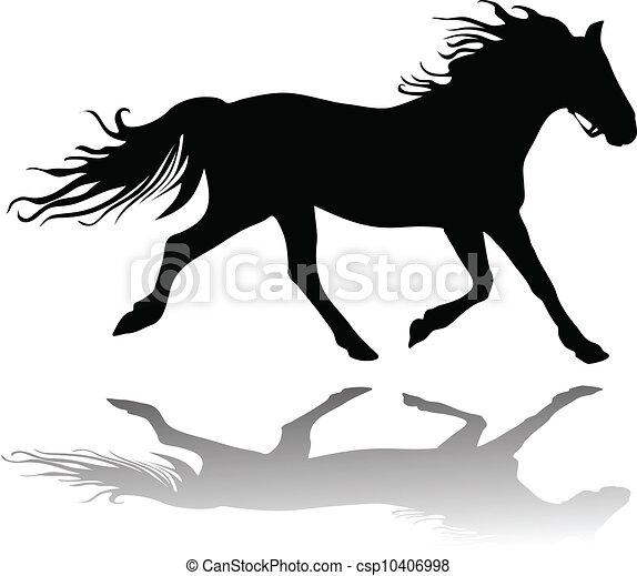 Running horse Vector Clip Art EPS Images. 2,470 Running horse ...