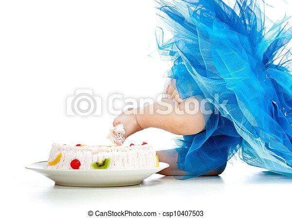 Stock fotografie van gekke baby voet taart csp10407503 zoek naar stock foto 39 s plaatjes - Baby voet verkoop ...