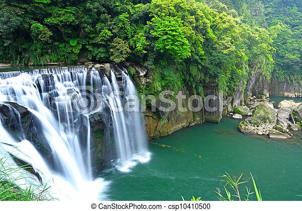 great waterfall in taiwan - csp10410500