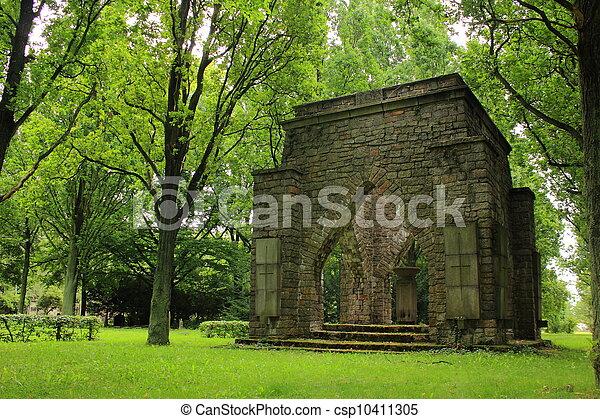 Military cemetery - csp10411305