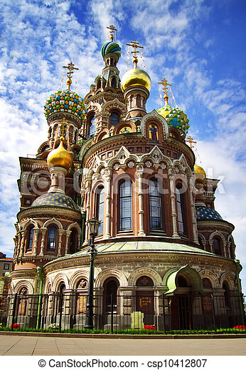 Church of the Savior on Blood. St. Petersburg, Russia - csp10412807