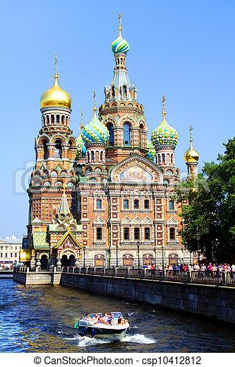 Church of the Savior on Blood. St. Petersburg, Russia - csp10412812