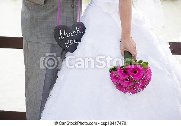 Wedding Thank-You - csp10417470