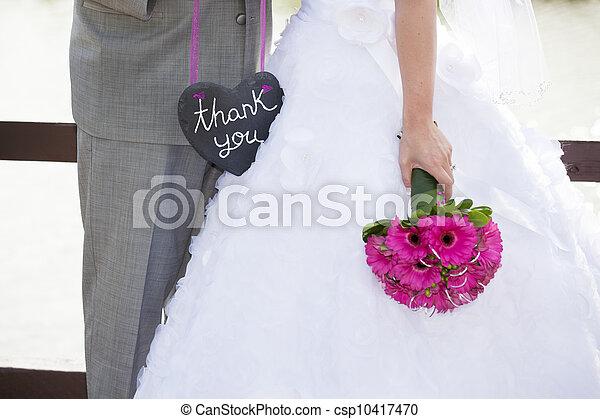 Wedding Thank-You - csp10417470