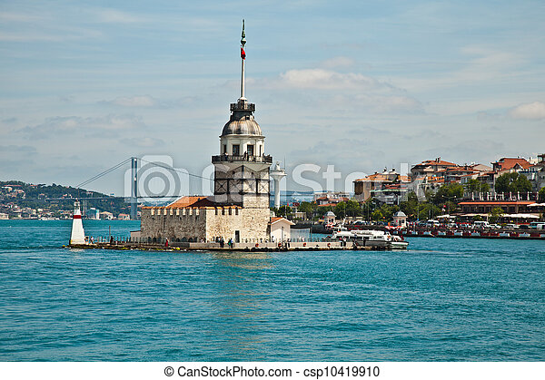 maiden tower - csp10419910