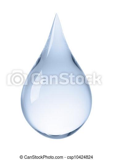 水, 下降 - csp10424824