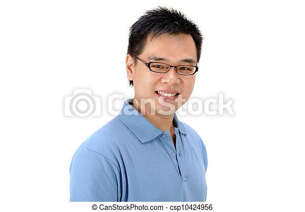 asian man - csp10424956