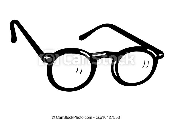 Circle Nerd Glasses