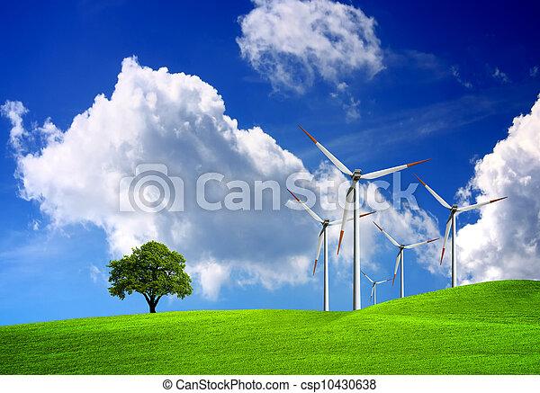 tecnología, naturaleza - csp10430638