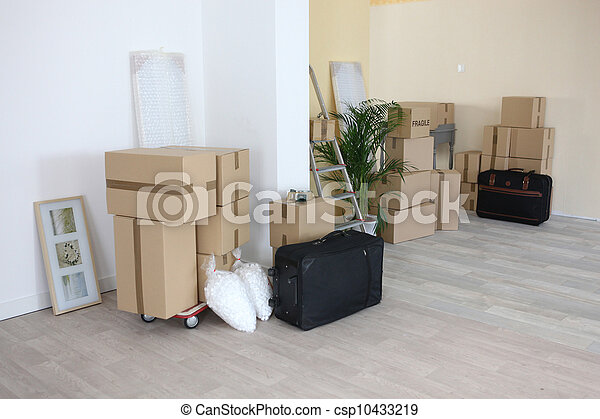 Moving house - csp10433219
