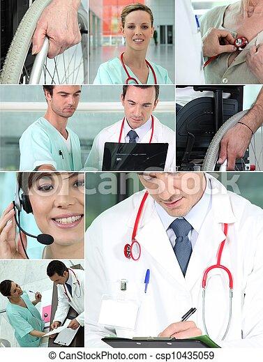 profissionais, saúde - csp10435059