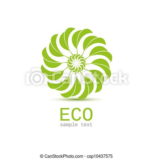 Leaf nature icon - csp10437575
