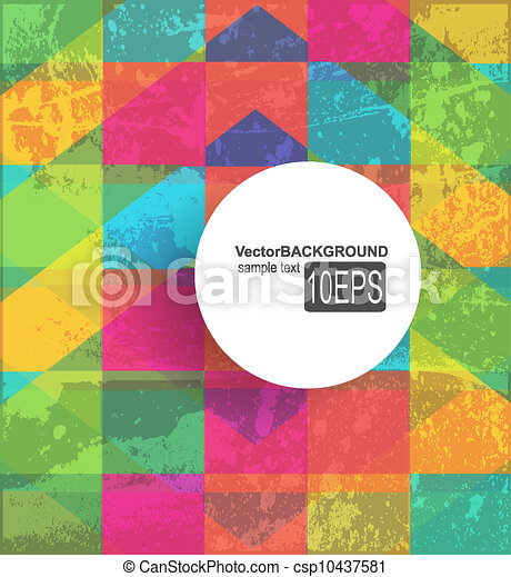 Abstract background. Graphic design - csp10437581