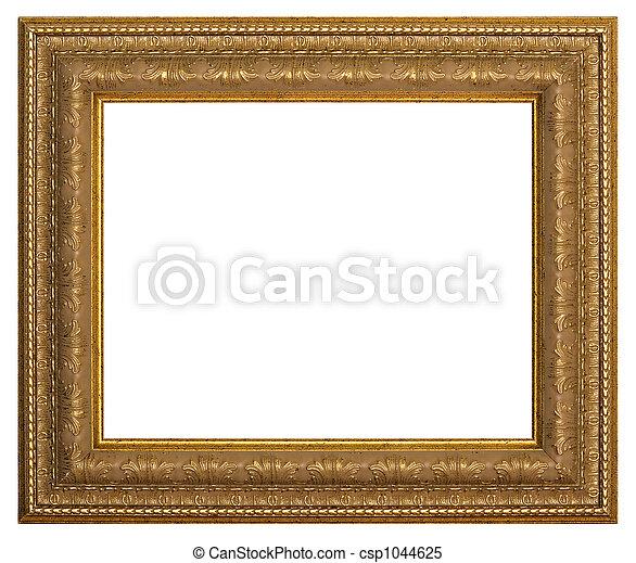 images de cadre peinture cadre pour peinture sur a blanc fond csp1044625. Black Bedroom Furniture Sets. Home Design Ideas