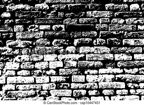 brick wall drawing black and white vectors of grunge white and black brick wall background 313