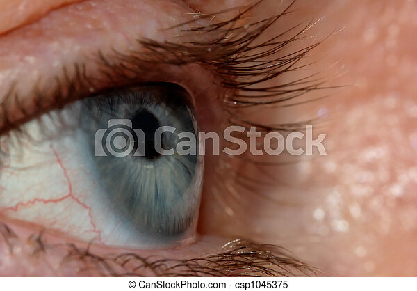 Blue Eye - csp1045375