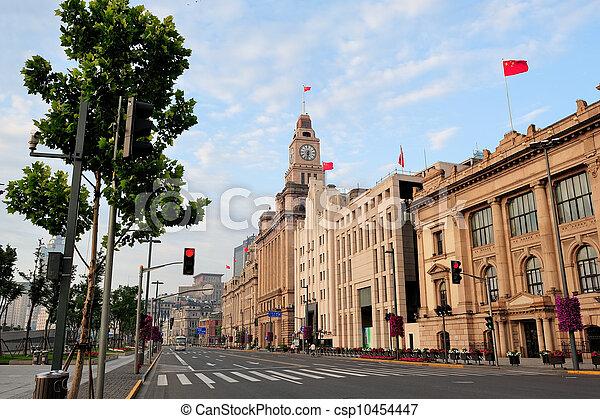Shanghai historic architecture - csp10454447