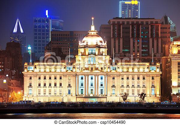 Shanghai historic architecture - csp10454490