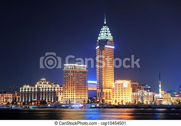 Shanghai historic architecture - csp10454501