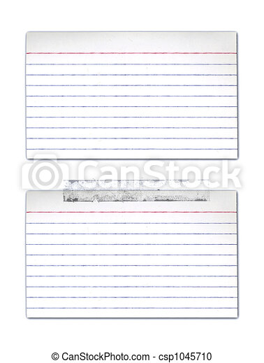 Index Cards - csp1045710