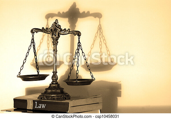 Scales of Justice - csp10458031