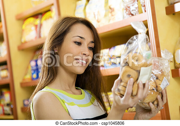 Lebensmittel, italienesche - csp1045806