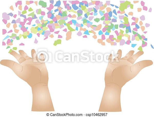 confetti - csp10462957