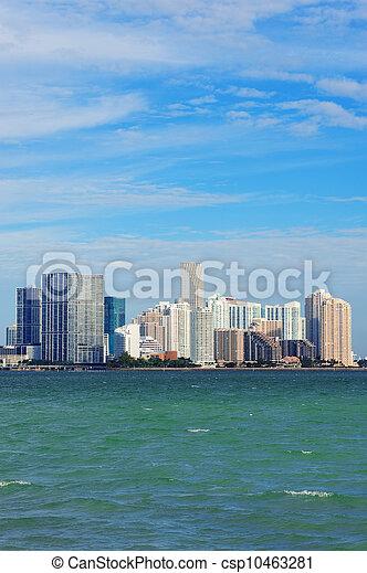 Miami urban architecture - csp10463281