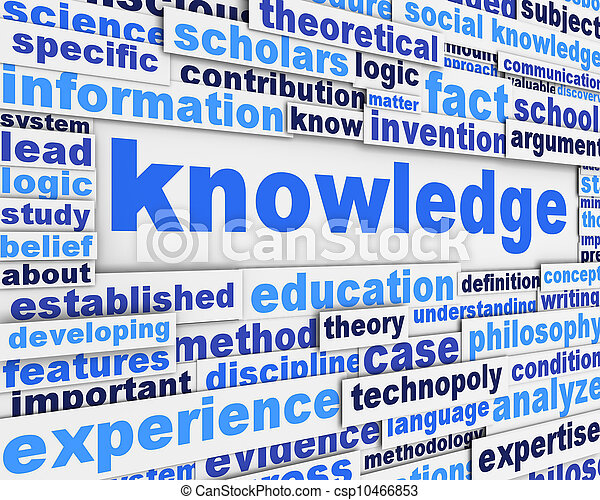 manifesto, disegno, conoscenza - csp10466853