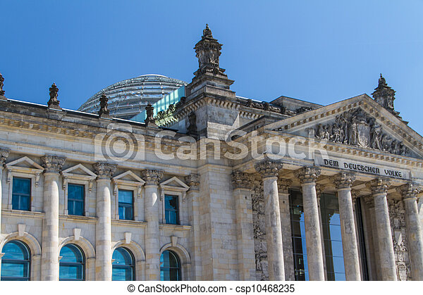 Berlin Government District - csp10468235