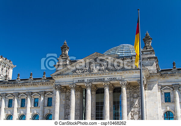 Berlin Government District - csp10468262