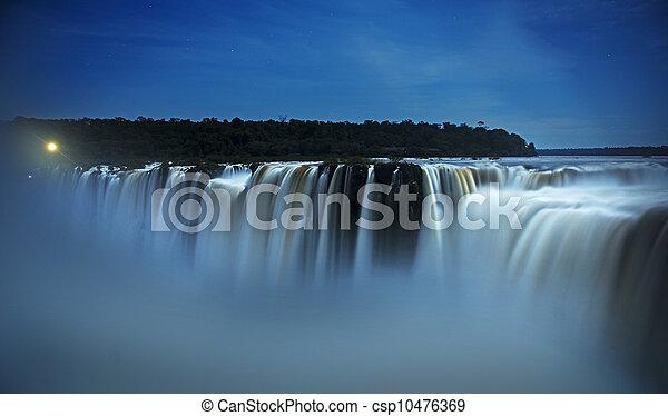 iguazu falls  - csp10476369