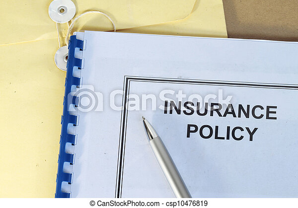 insurance policy  - csp10476819