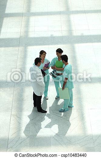 Medical team - csp10483440